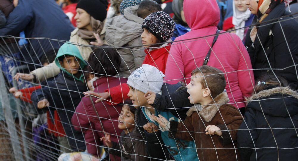 Migrants en Autriche