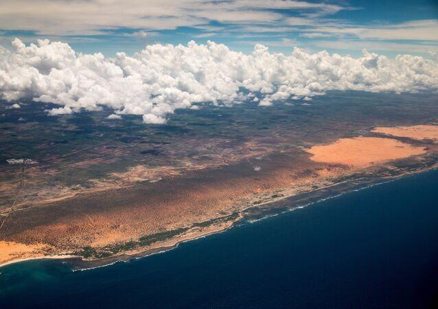 La côte de Somalie