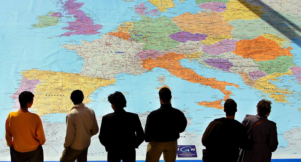 Сarte de l'Europe