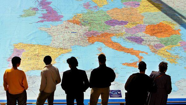Map of Europe - Sputnik France