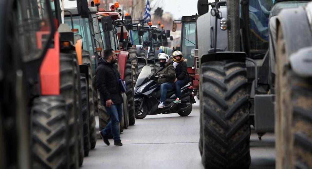 Les manifestations d'agriculteurs