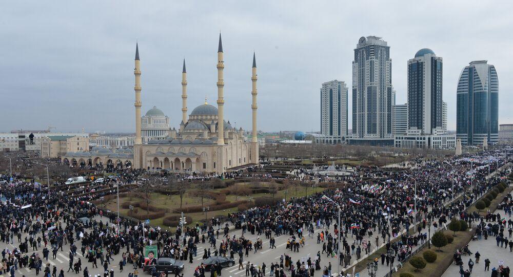 Grozny, la capitale tchétchène