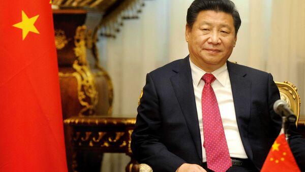 Le président chinois Xi Jinping visite le parlement au Caire, en Egypte, le jeudi 21 janvier 2016. - Sputnik France