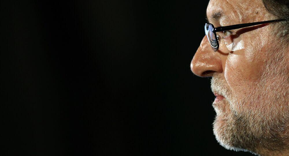 Le président sortant du gouvernement espagnol, le conservateur Mariano Rajoy