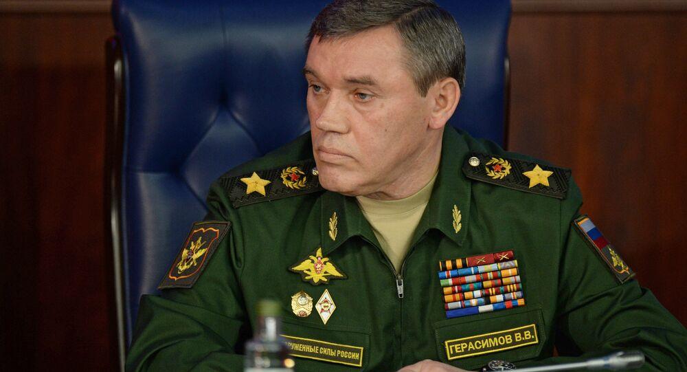 Le chef d'état-major des forces armées russes Valéri Guérassimov (photo d'archives)