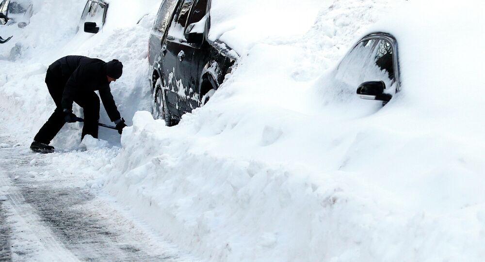 Chutes de neige meurtrières aux USA