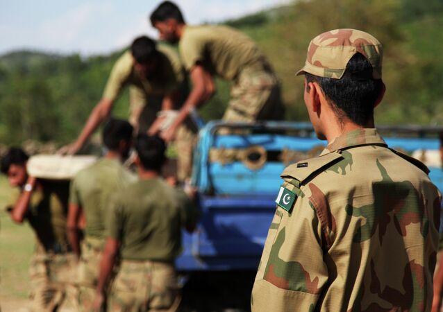 Militaires pakistanais