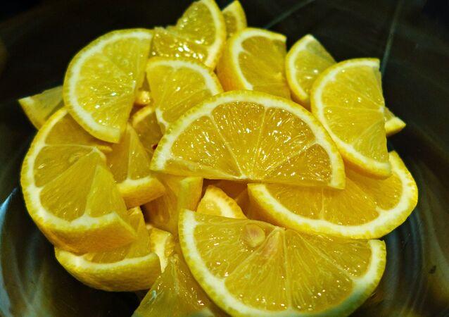 Des tranches de citron