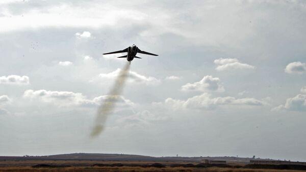 Un MiG-23 de l'Armée de l'air syrienne - Sputnik France
