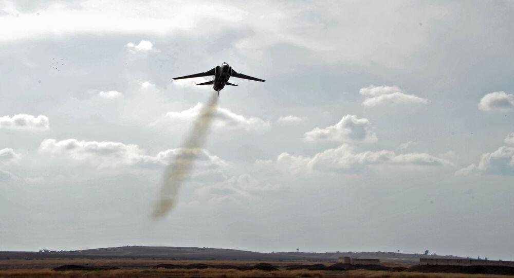 Un MiG-23 de l'Armée de l'air syrienne