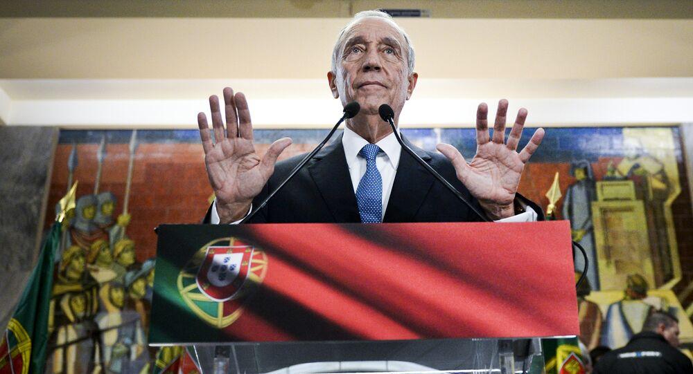 Marcelo Rebelo de Sousa, photo d'archives
