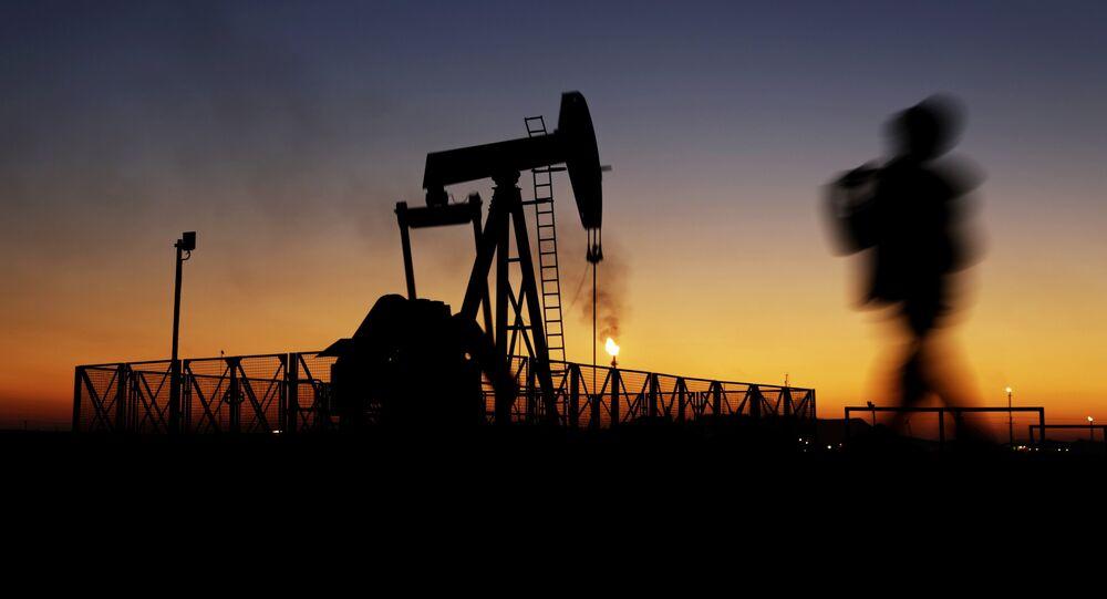 Une extraction de pétrole Une extraction de pétrole