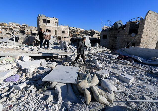 La crise syrienne