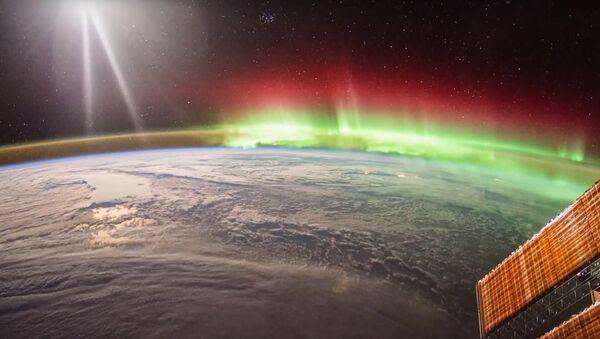 ISS Timelapse - North Pacific Aurora (20 Gennaio 2016) - Sputnik France