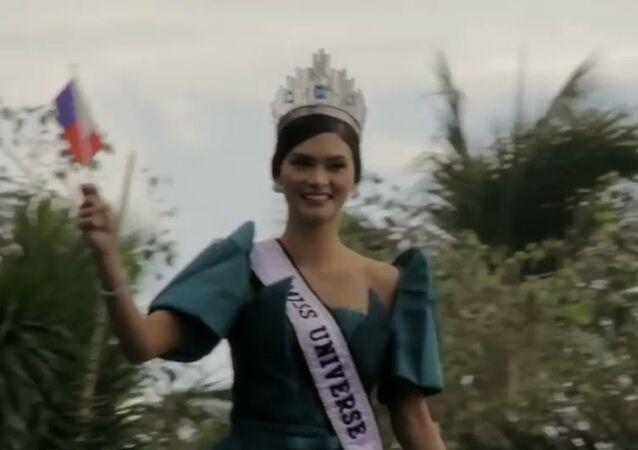 Le retour triomphal de «Miss Univers» au pays