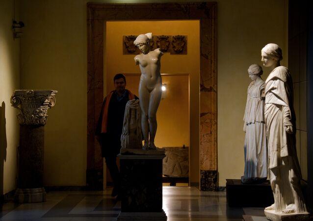 le musée du Capitole à Rome