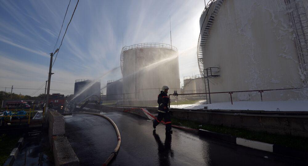 stockage de pétrole