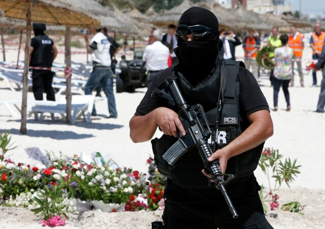 Un policier tunisien