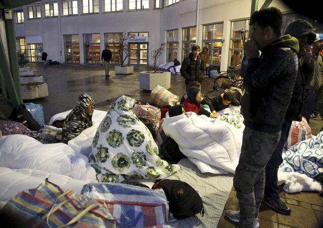 Migrants en Suède, Nov. 20, 2015