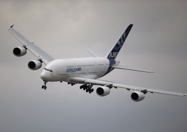 Airbus A380. Archive photo