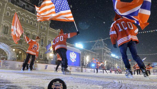 100 jours avant la coupe du monde de hockey sur glace en Russie - Sputnik France