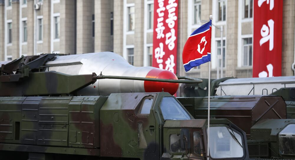 Corée du Nord, missile