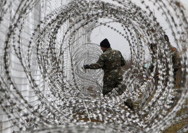 clôture, Macédoine