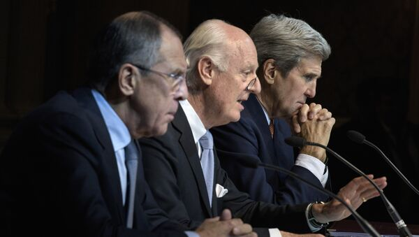 Négociations sur la Syrie - Sputnik France