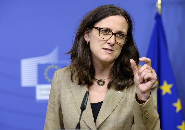 Cecilia Malmström, commissaire européenne au Commerce
