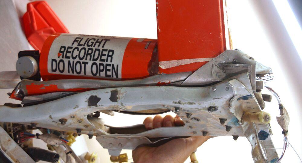 Les boîtes noires de l'Airbus A321 qui s'est écrasé dans le Sinaï suite à l'attentat terroriste