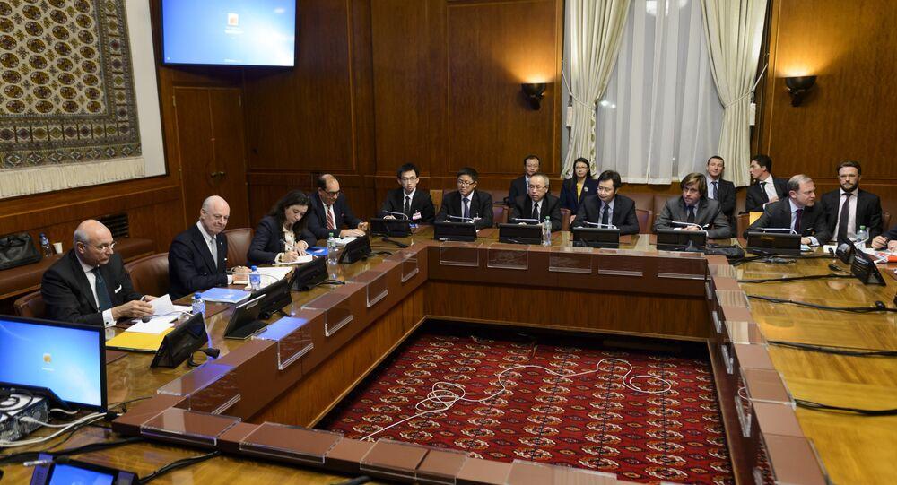Négociations sur la Syrie, Genève