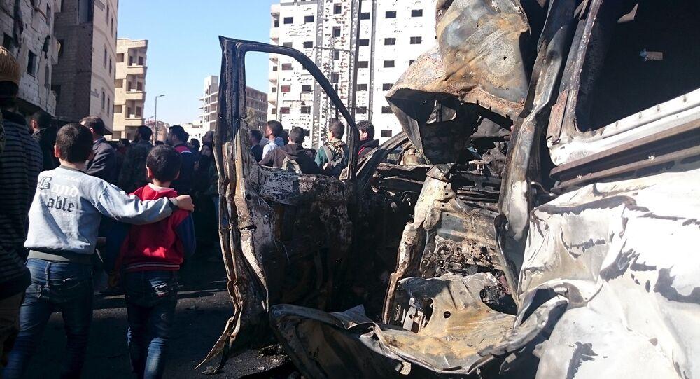 Attentat terroriste en Syrie