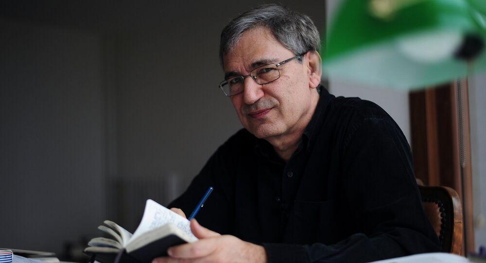 Prix Nobel de littérature turc Orhan Pamuk