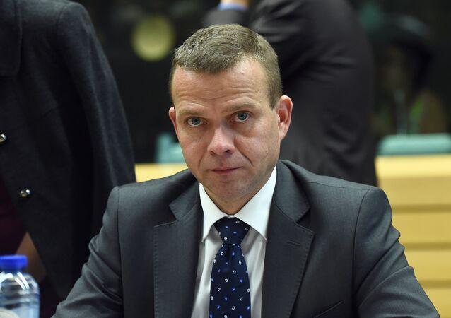 Le ministre finlandais de l'Intérieur  Petteri Orpo