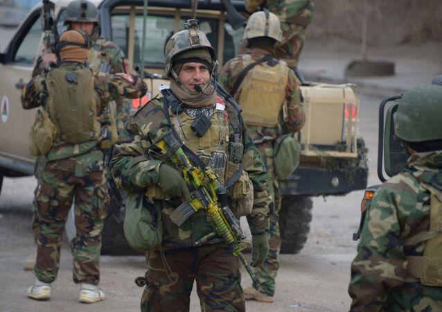 Militaires afghans