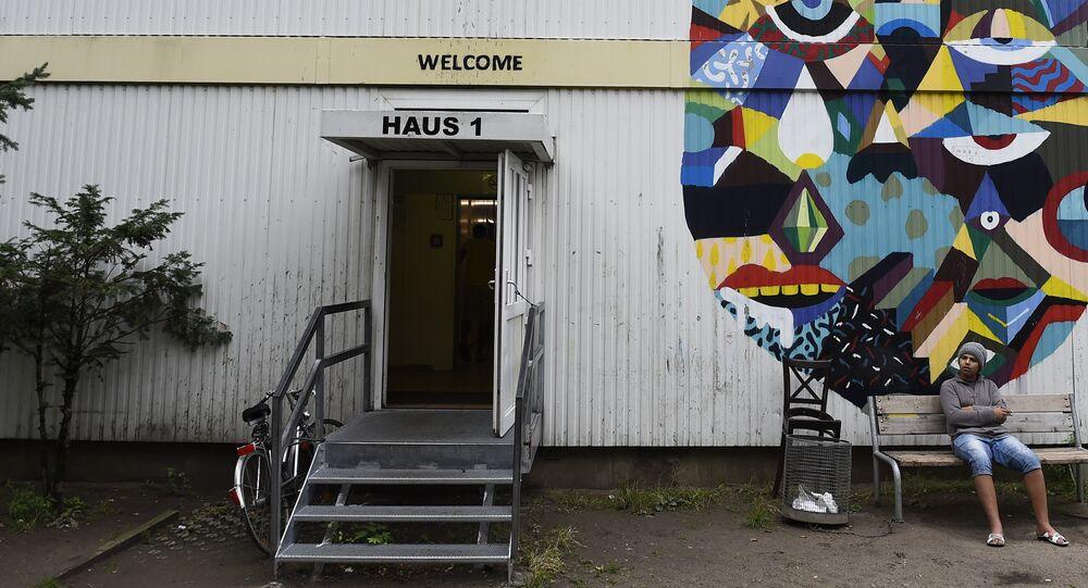 maison pour les réfugiés à Berlin