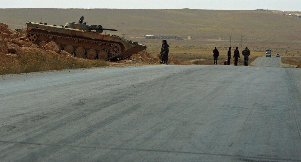 Syrie: l'armée coupe les voies de ravitaillement des terroristes