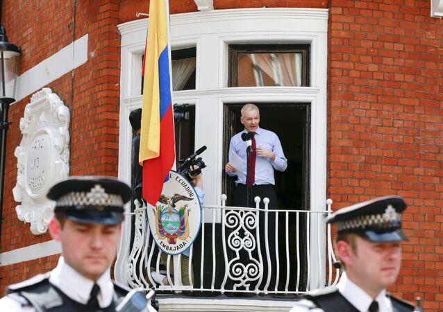 Un attentat contre Julian Assange?