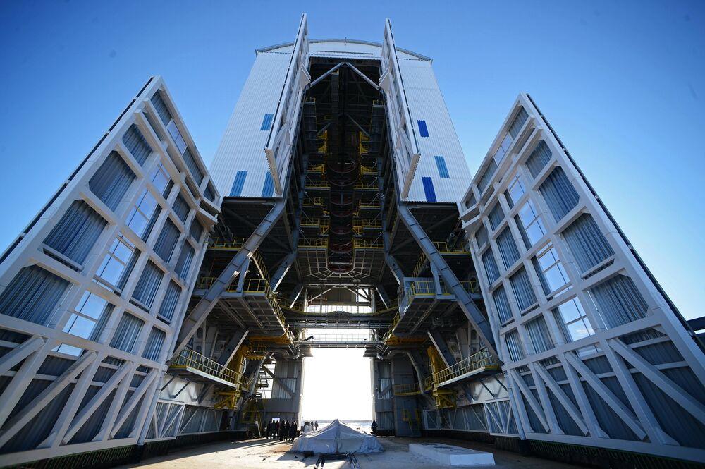 Le premier cosmodrome russe Vostotchny