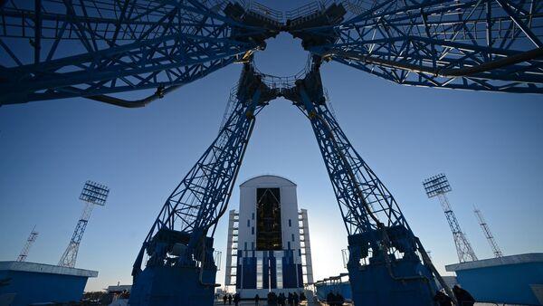 Le premier cosmodrome russe Vostotchny - Sputnik France