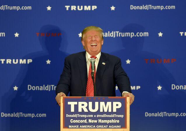 Donald Trump, candidat à la présidence US