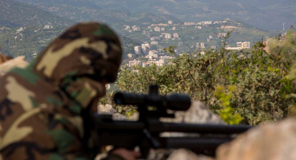Conflit armé en Syrie