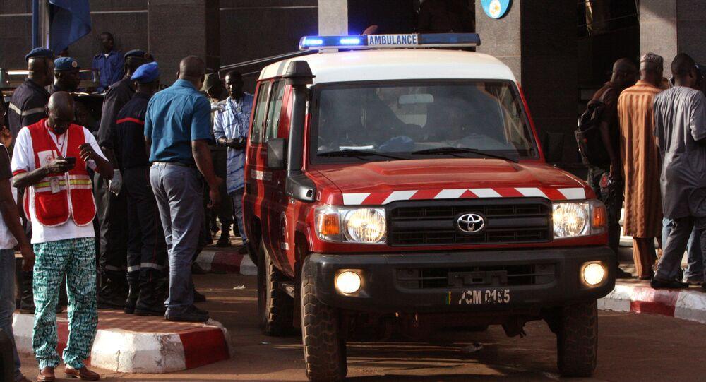 Ambulance au Mali (archives)