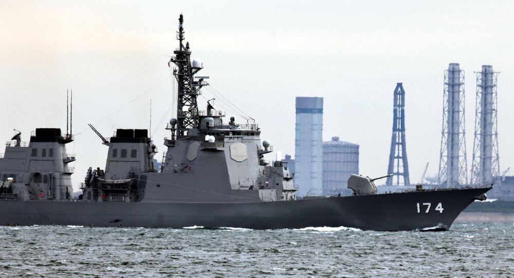 Le destroyer Kirishima