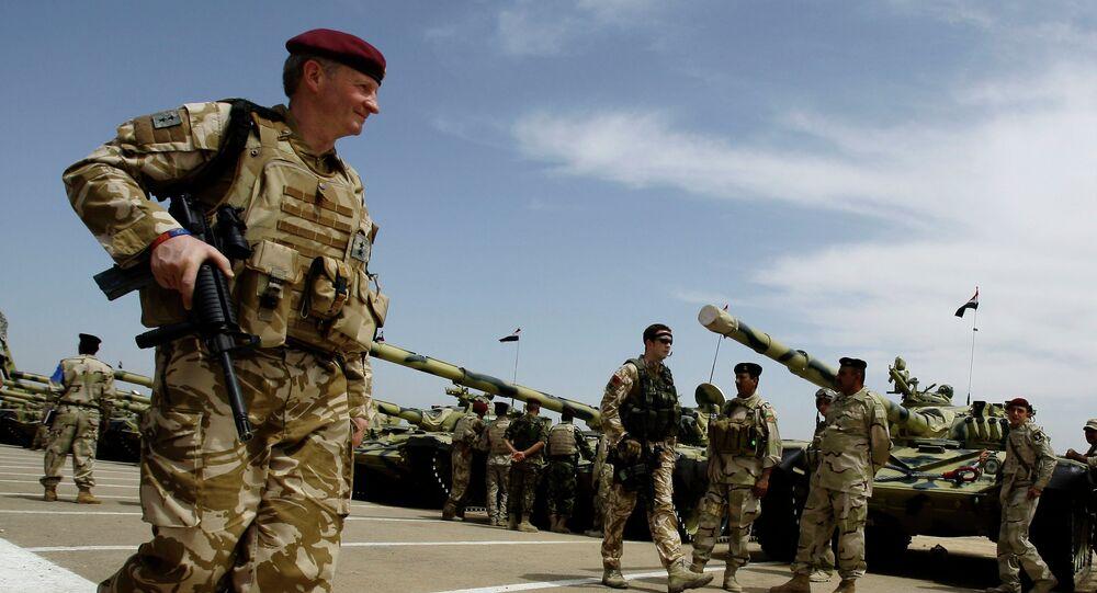 Des soldats britanniques