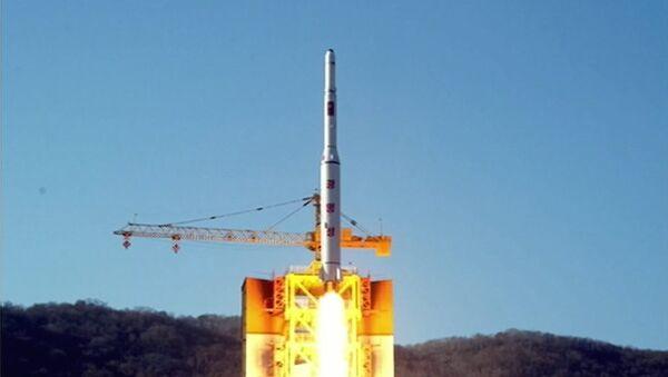 Le lancement du satellite nord-coréen Kwangmyong 4 - Sputnik France
