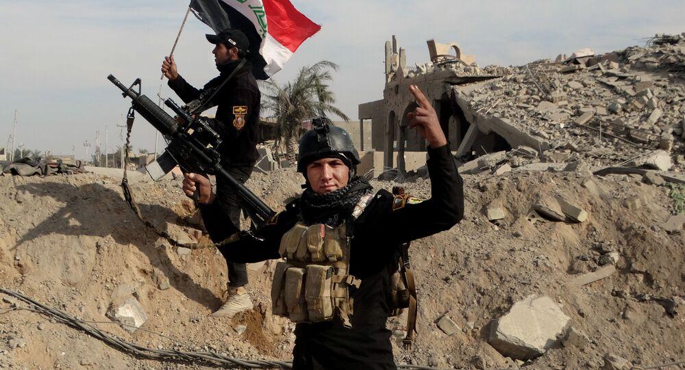 forces de sécurité irakiennes à Ramadi