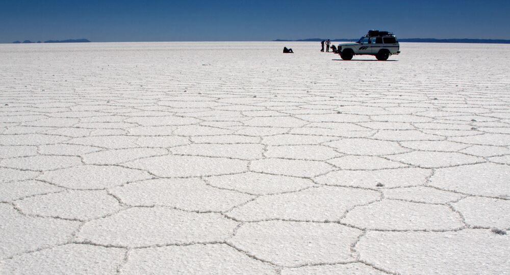 Le lac Poopo