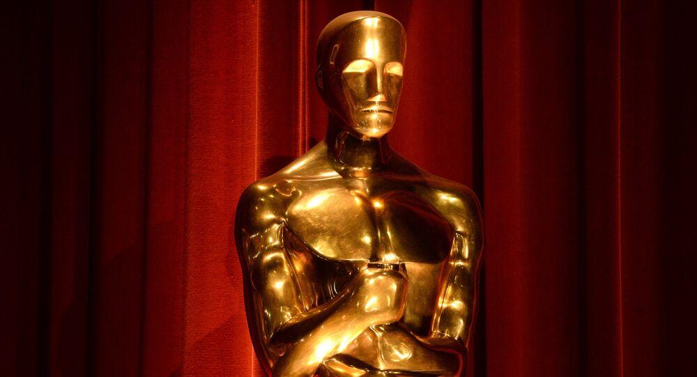 Une statuette d'Oscar