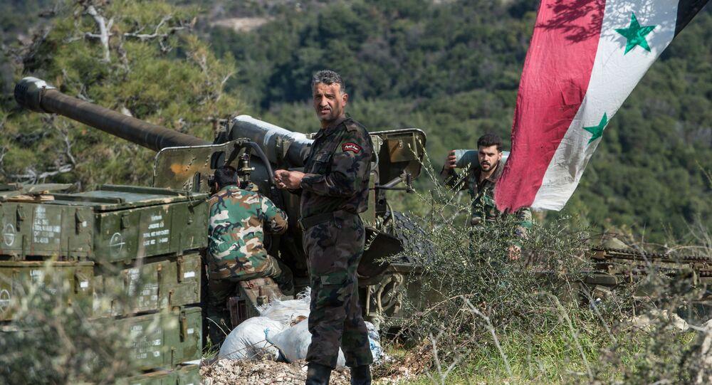 militaires de l'armée syrienne